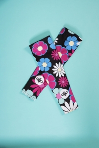 FLOWER BEE ARM WARMERS