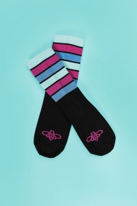 Cycling socks - FLOWER BEE